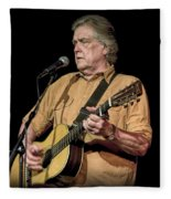 Texas Singer Songwriter Guy Clark Fleece Blanket