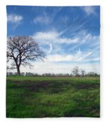 Texas Sky Fleece Blanket