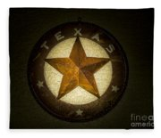 Texas Star Fleece Blanket