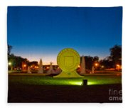 Texas Tech Seal At Night Fleece Blanket