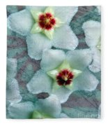 Textured Hoya Fleece Blanket