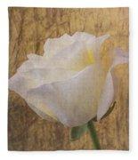Textured Rose Fleece Blanket