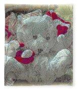 Textured Teddy Fleece Blanket