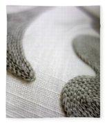 Textures 6 Fleece Blanket