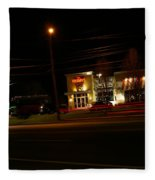 Tgi Fridays Car Lights Glow Fleece Blanket