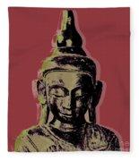 Thai Buddha #1 Fleece Blanket