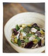 Thai Jungle Curry Fish Soup Fleece Blanket