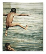 That Was A Great Day Fleece Blanket