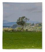 Thatched Roof - County Mayo Ireland Fleece Blanket
