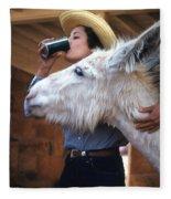 That's My Drink Fleece Blanket