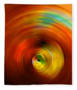 The #2 Colors Of Your Soul Fleece Blanket