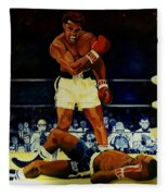 The 2nd Fight  Fleece Blanket
