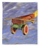 The 356th Toy Plane Squadron 2 Fleece Blanket