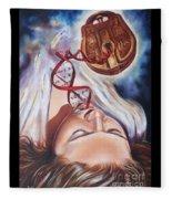 The 7 Spirits - The Spirit Of Wisdom Fleece Blanket