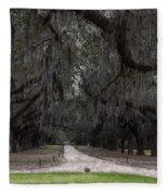 The 99 Oak Trees Fleece Blanket
