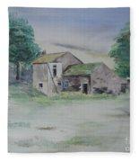 The Abandoned House Fleece Blanket