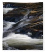 The Abstract Of Motion Fleece Blanket