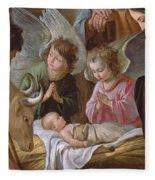 The Adoration Fleece Blanket