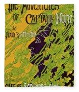 The Adventures Of Captain Horn 1895 Fleece Blanket