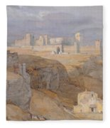 The Alcazar Of Carmona, Andalucia Fleece Blanket