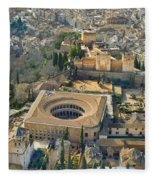 The Alhambra Aerial Fleece Blanket