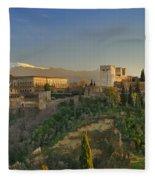 The Alhambra Palace Fleece Blanket