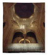 The Alhambra The Infantas Tower Fleece Blanket