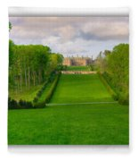 The Allee And The Castle Fleece Blanket