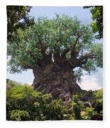 The Amazing Tree Of Life  Fleece Blanket