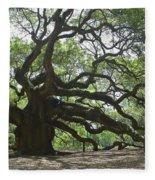 The Angel Oak Fleece Blanket