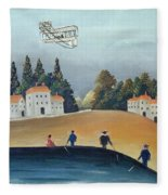 The Anglers, C.1908-09 Oil On Canvas Also See 309520 Fleece Blanket