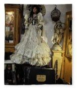 The Antique Doll Fleece Blanket