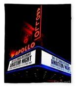 The Apollo Theater Fleece Blanket