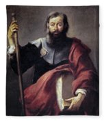 The Apostle Saint James Fleece Blanket