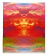 The Apparition  Fleece Blanket