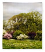 The Apple Orchard Fleece Blanket