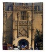 The Arch, Montacute House, Somerset Fleece Blanket