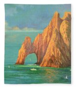 The Arch Of Cabo San Lucas 2 Fleece Blanket