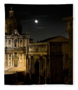 The Arch Of Septimius Severus Fleece Blanket