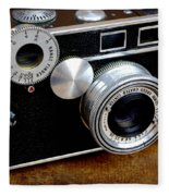 The Argus C3 Lunchbox Camera Fleece Blanket