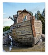 The Ark Fleece Blanket