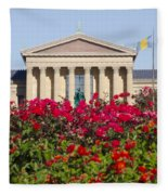 The Art Museum In Summer Fleece Blanket
