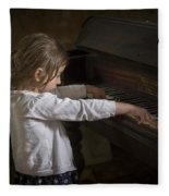 The Art Of Melody Fleece Blanket