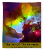 The Art Of The Universe 266 Fleece Blanket