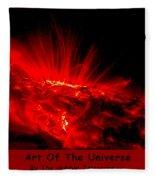 The Art Of The Universe 307 Fleece Blanket