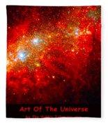 The Art Of The Universe 309 Fleece Blanket