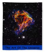 The Art Of The Universe 310 Fleece Blanket
