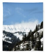The Artwork Of Winter Fleece Blanket