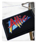 The Attic Myrtle Beach Sc Fleece Blanket