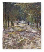 The Avenue At The Park Fleece Blanket